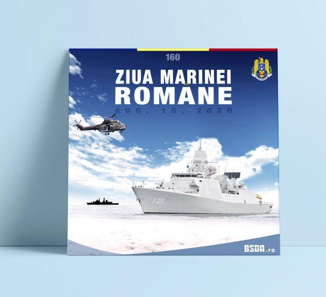 Romanian- Navy-Day-Bratcovici-Radu-poster