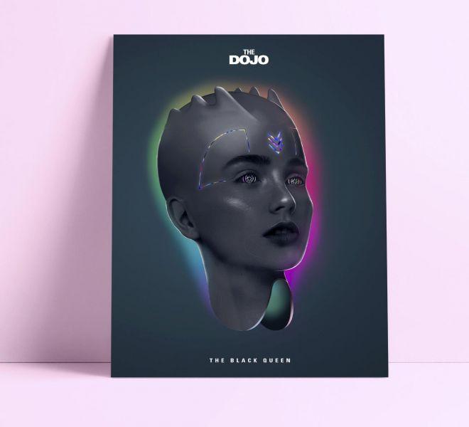 The-Dark-Queen-Bratcovici- Radu--poster
