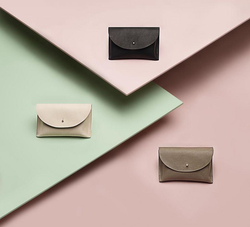Three Leather Handbags